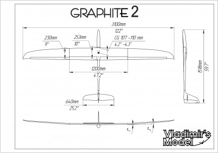 graphite 2 cross tail 2
