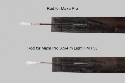 light and regular rod maxa pro