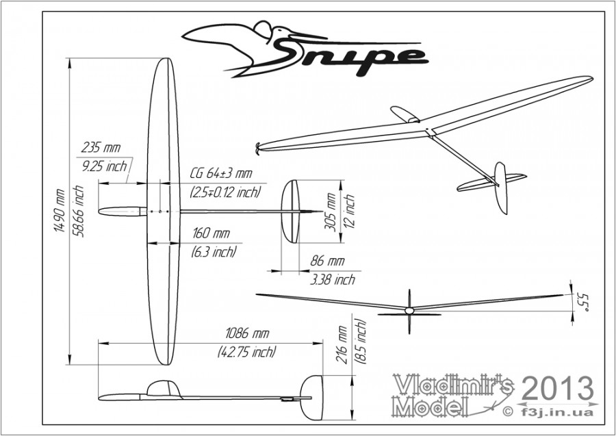 Snipe DLG assembly drawing_f3k