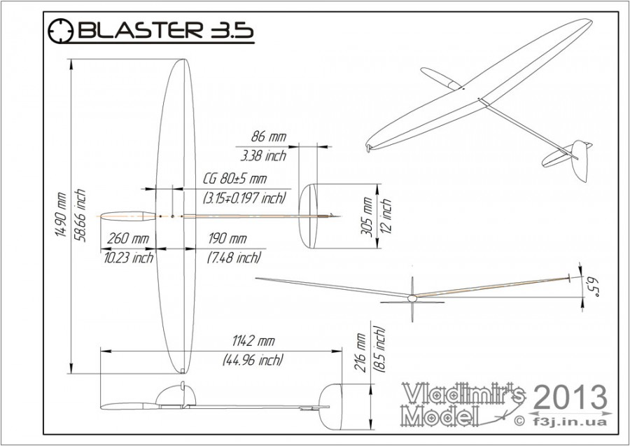 Blaster 35 assembly drawing